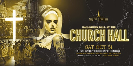 Halloween Ball @ The Church Hall / Saturday Oct 31st / Spire tickets