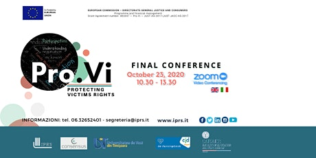 Pro.Vi - Protecting Victims' Rights - Final Conference entradas