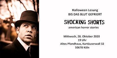 """Halloween Lesung: """"BIS DAS BLUT GEFRIERT"""" Tickets"""