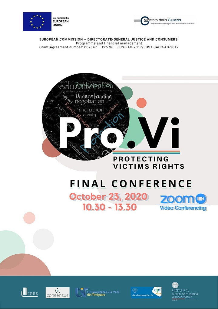 Pro.Vi - Protecting Victims' Rights - Final Conference image