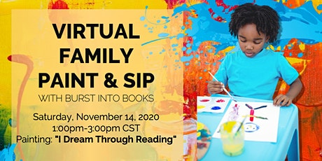 Virtual Family Paint & Sip Party tickets