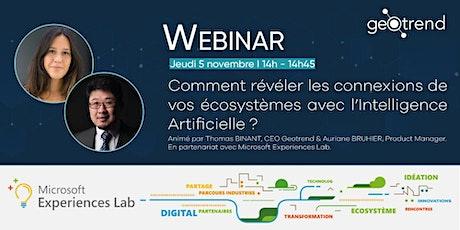Geotrend - Comment révéler les connexions de vos ecosystèmes avec l'IA ?  billets