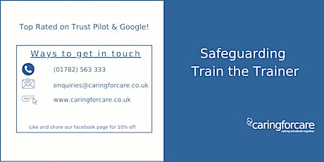 Safeguarding Train the Trainer tickets