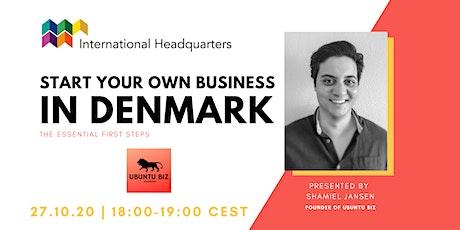 Start your own business in Denmark