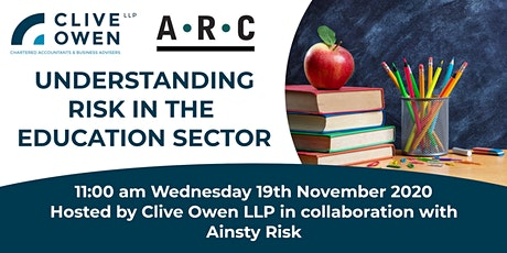 Understanding Risk in the Education sector tickets