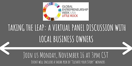 Taking the Leap: A Virtual Panel Discussion with Local Business Owners tickets