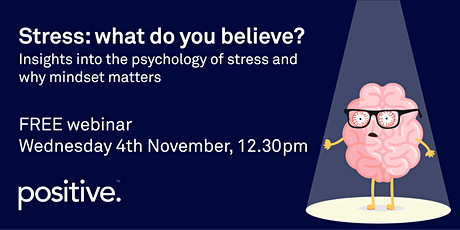 Stress: what do you believe? tickets