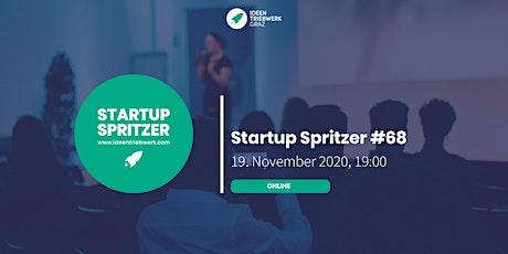 Startup Spritzer #68 -  Online Tickets