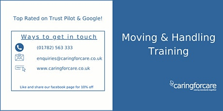 Moving & Handling Train The Trainer tickets