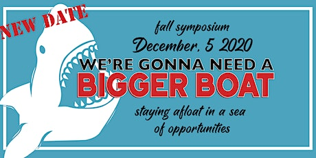 URI SWMS Symposium 2020: We're Gonna Need a Bigger Boat tickets