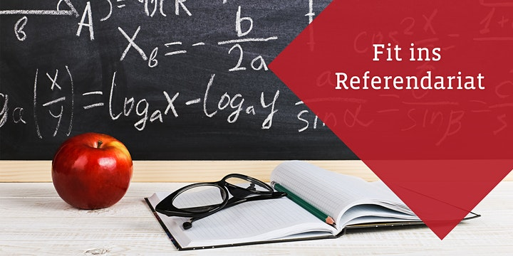 Fit ins Referendariat - Online-Seminar für angehende Lehramtsreferendare: Bild