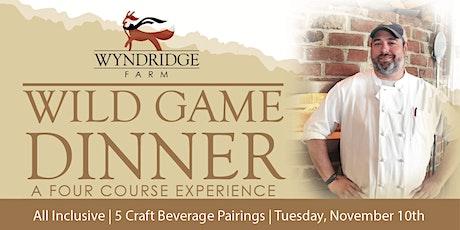 Wyndridge Farm Wild Game Dinner tickets