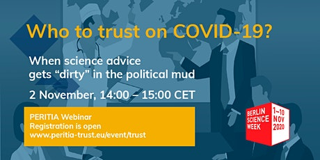 Who to trust on Covid-19? tickets