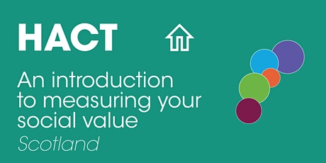 Scotland: An introduction to measuring your social value tickets