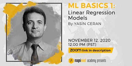 ML Basics 1: Linear Regression Models Workshop tickets