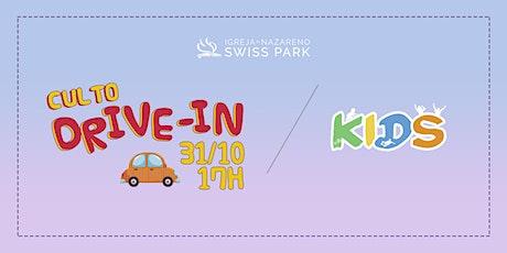 Culto Kids // DRIVE-IN ingressos
