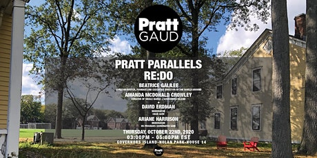 Pratt Parallels - RE:DO with Beatrice Galilee and Amanda McDonald Crowley tickets