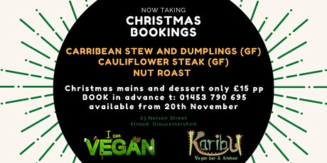 Christmas Party bookings tickets