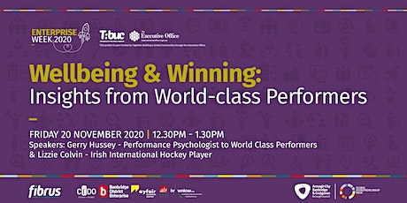 Wellbeing & Winning: Insights from World-class Performers tickets