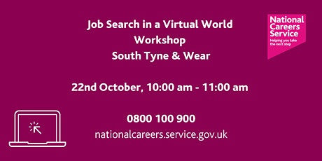 National Careers Service – Job searching in a Virtual World tickets
