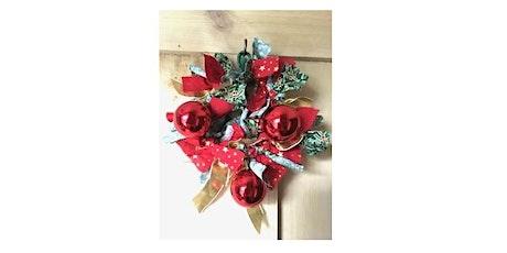 Let's Craft: A Christmas Wreath with Margaret Brackenbury tickets