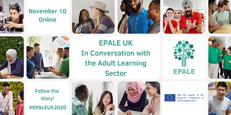 EPALE UK: In Conversation with the Adult Learning Sector tickets