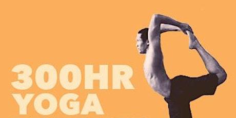 300 Hour Yoga Teacher Training with Yogi Charu tickets