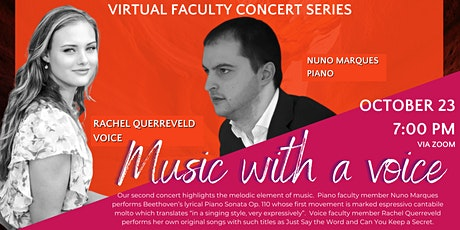 FACULTY CONCERT SERIES | MUSIC WITH A VOICE tickets