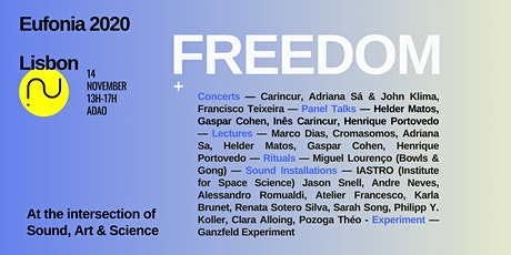 Eufonia Lisbon 2020: Freedom tickets