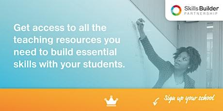 Skills Builder Information Webinar: 3 Ways to Teach Essential Skills #7