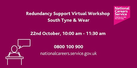 National Careers Service – Redundancy Support tickets