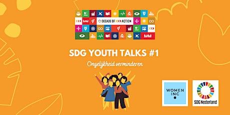 SDG Youth Talks - #1 Ongelijkheid verminderen tickets