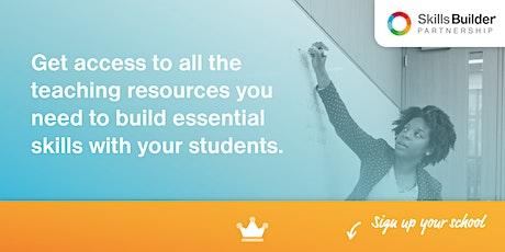 Skills Builder Information Webinar: 3 Ways to Teach Essential Skills #8