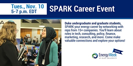 SPARK Career Event tickets