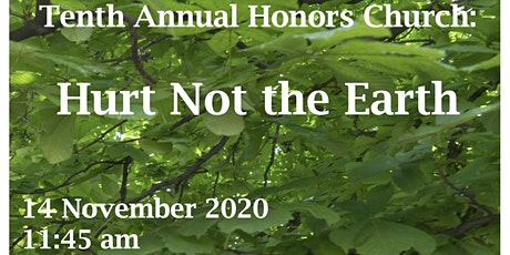 Honors Church 10th Year Anniversary - Hurt Not The Earth tickets