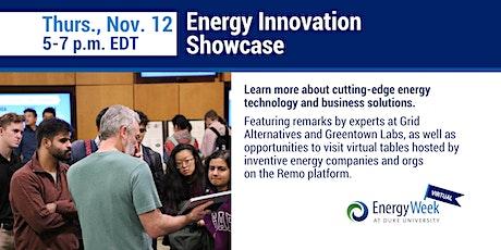 Energy Innovation Showcase