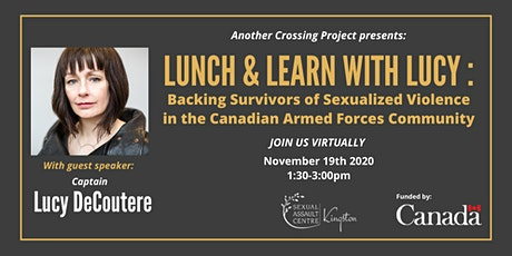 Lunch & Learn with Lucy: Backing Survivors in the CAF Community tickets