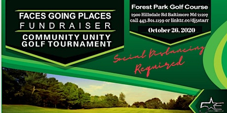 Faces Going Places Fundraiser Community Golf Tournament tickets