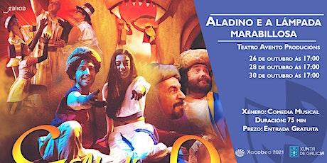 ALADINO E A LÁMPADA MARABILLOSA de Teatro Avento Producións na Sala Ártika bilhetes