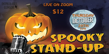 Spooky Stand Up: Live on Zoom tickets