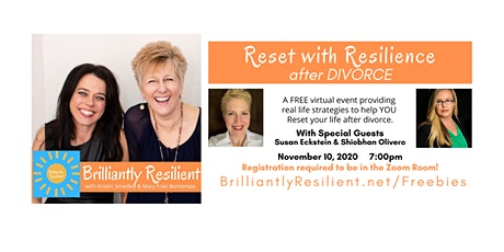 RESET with Resilience after DIVORCE tickets