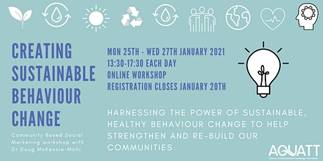 Creating Sustainable Behaviour Change: Workshop with Doug McKenzie Mohr tickets