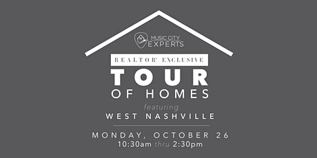 MCE REALTOR® Tour of Homes - October 2020 tickets