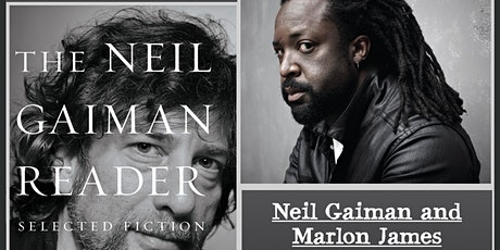 Neil Gaiman in conversation with Marlon James (pre-recorded w/ live Q&A) tickets