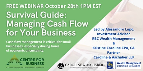 Survival Guide: Managing Cash Flow for Your Business tickets