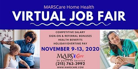 MARSCare Virtual Job Fair - Online Event tickets