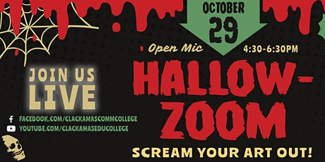 Hallow-Zoom 'Scream Your Art Out' tickets
