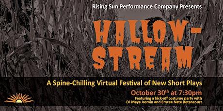 HallowStream: An Online Zoom Theatre Festival tickets