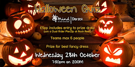 Dorset Mind's Halloween Quiz tickets