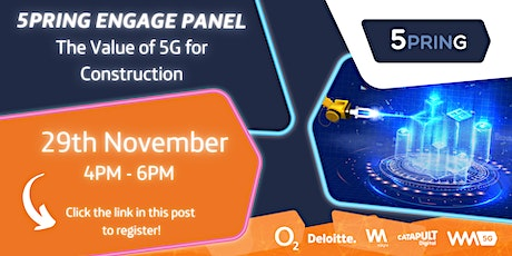 5pring Engage- Panel Discussion-  Construction tickets